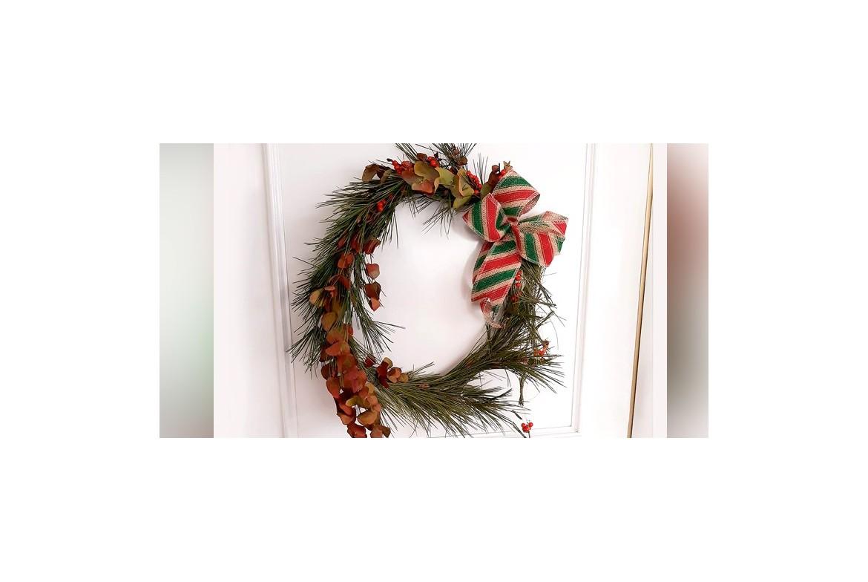Cómo hacer una Corona de Navidad paso a paso!